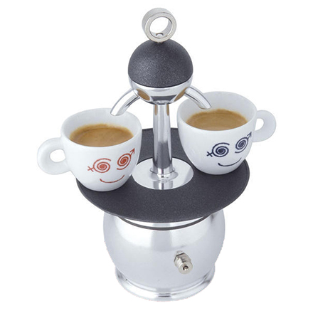caffettiera top moka papalina